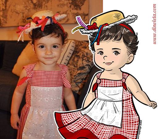 dinoleta_chapeuzinho_ilustracao