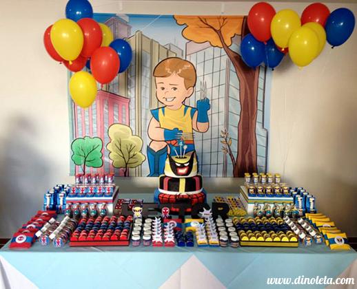 Fiquei muito feliz com o trabalho de vcs A festa do meu filho